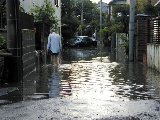 浸水被害に遭った人たちはみんな「まさか自分の自宅がこんなことになってしまうなんて……」と思っているようだ