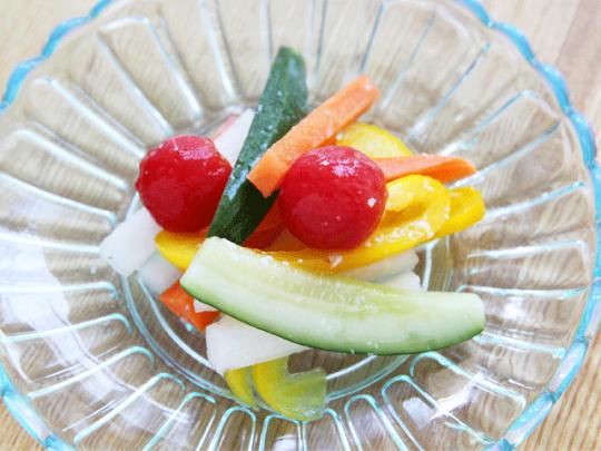 甘酸っぱい風味が食欲を誘い、体力を回復させてくれる!