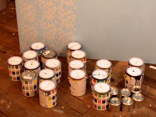 壁の色を変えるだけで、部屋の雰囲気をがらりと変えることができる。イメージに合わせて好きな色を選ぼう