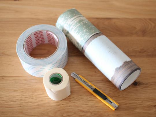 マスキングテープはのり残りしにくいものを選ぼう