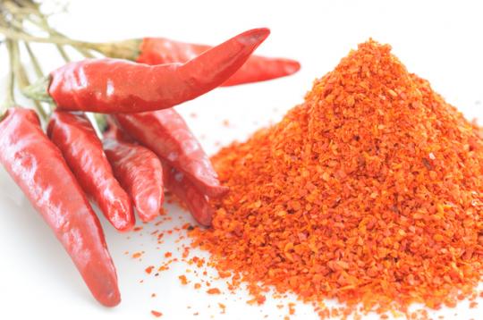 唐辛子の「カプサイシン」は代謝を良くし、冷え性にも効く