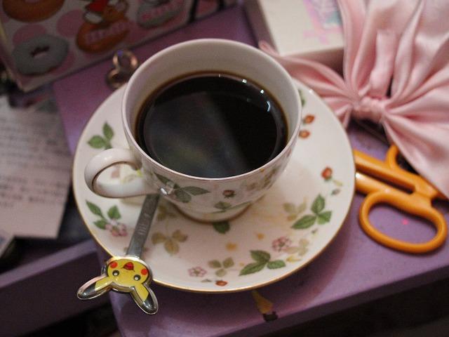 水野さんが淹れてくれたコーヒー