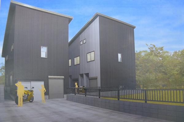 新築賃貸マンション「ガレージサイト」 ビルトインガレージ付きの物件