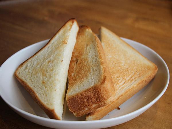 トーストモード焼き上がり