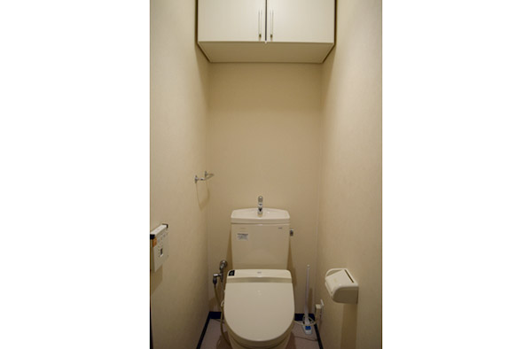 筆者宅のトイレは99%近く白!