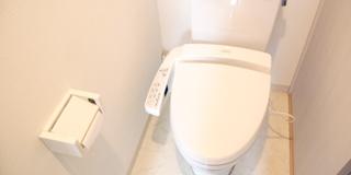 温水洗浄便座つき物件