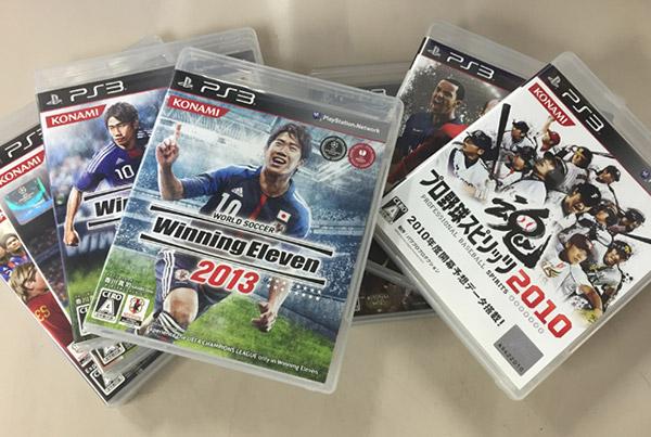 スポーツゲームは毎年のように発売されるため、最新作以外は価格が大きく下がる