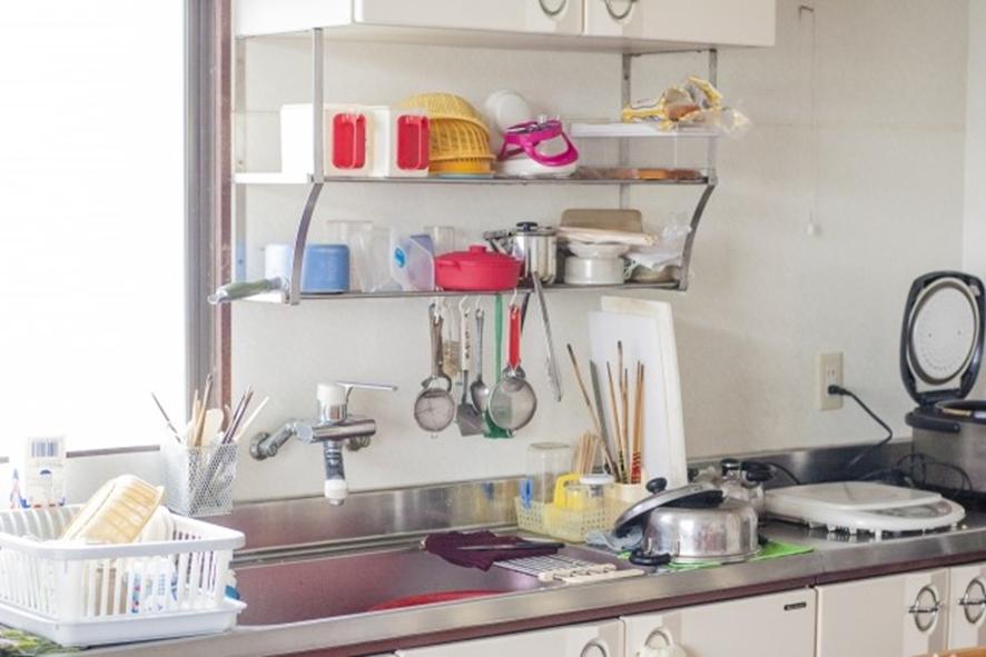 キッチンはこのような感じに!!