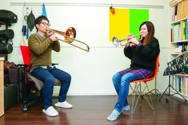 防音室のメリットは? 日々金管楽器を練習する夫婦を取材してみた