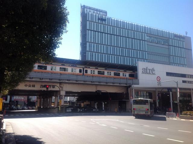 吉祥寺駅と中央線