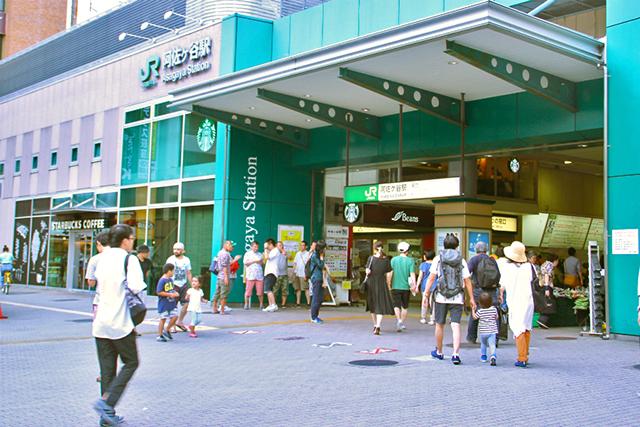 阿佐ヶ谷駅前