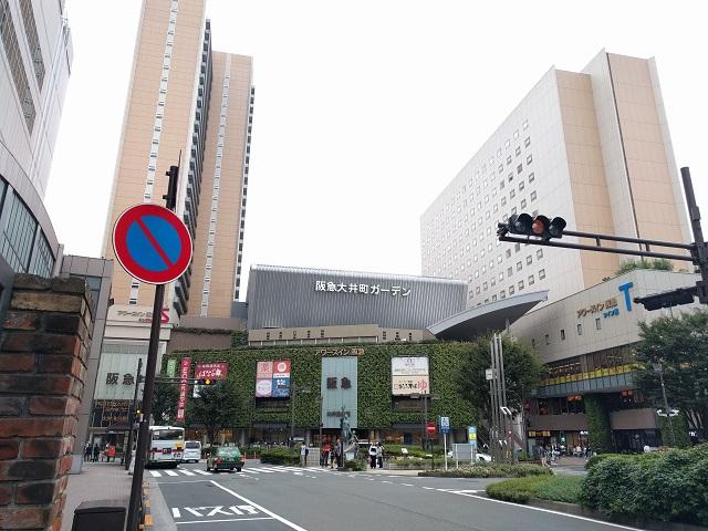 買い物に便利な大井町駅周辺