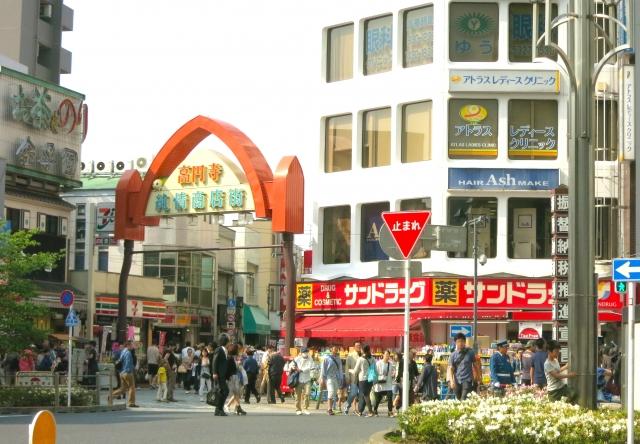高円寺駅周辺の商店街