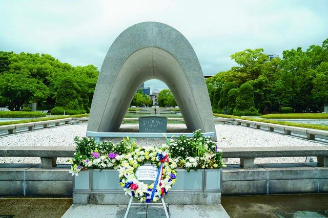 原爆死没者の慰霊と世界恒久平和を祈念して開かれた広島平和記念公園