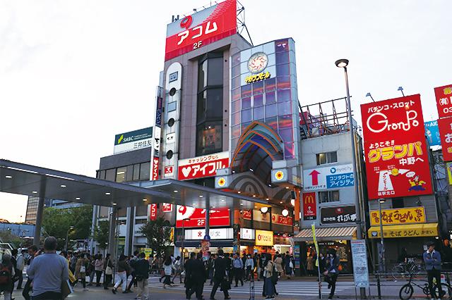 商店街や商業施設があり、平日休日問わずにぎわいを見せる中野駅北口周辺|中野駅周辺の住みやすさは? 実際に暮らす住人の生の声・評判を調査!