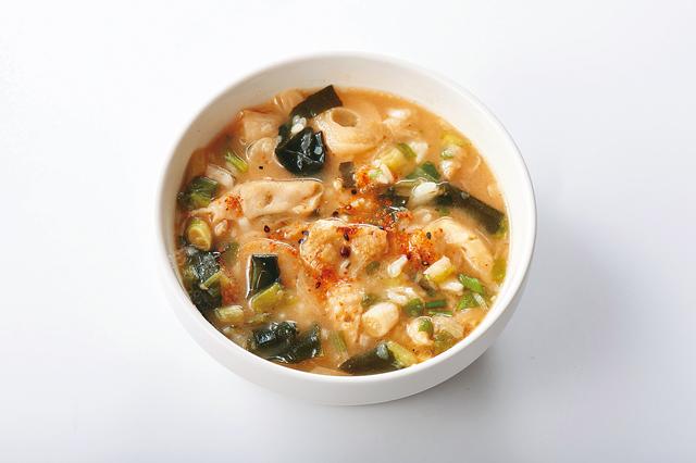 鶏皮のコラーゲン雑炊