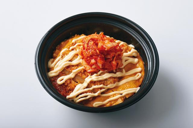 キムマヨカツ丼