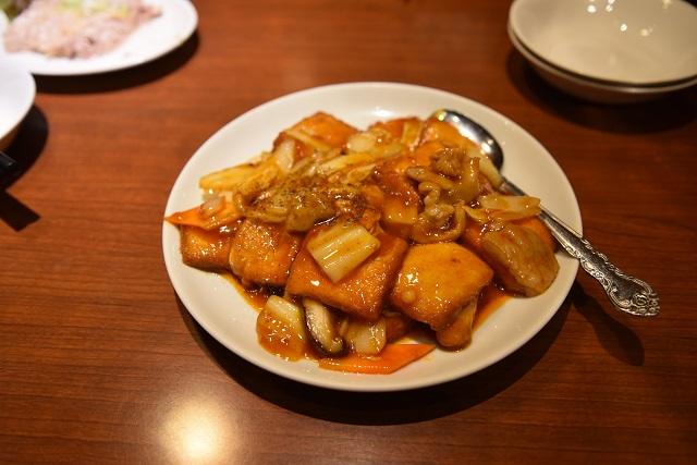 ヨモギー氏激推しの「家常豆腐」|美叙飯店