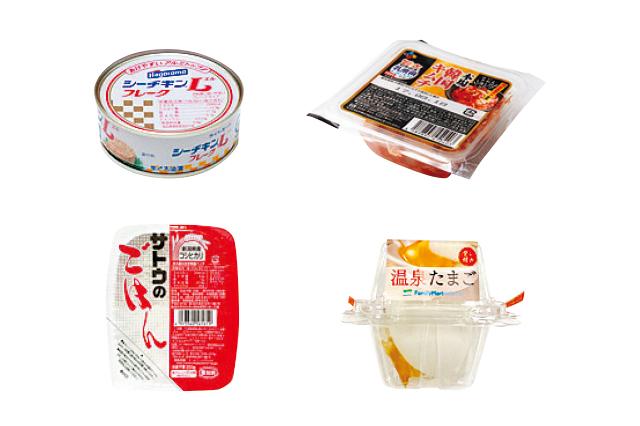 ツナ缶/キムチ/温泉卵をごはんにのせるだけでできるツナキム温玉丼