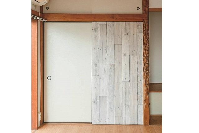 【賃貸DIY】イマイチな押入の襖をベニヤ板でアレンジ!