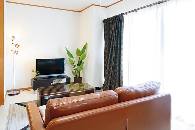 リビング古河には家具付きの部屋もあり、マンスリーで貸し出しをしている
