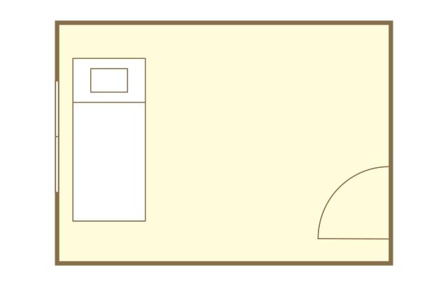 ドリームハウスR&Dの一部屋の間取図