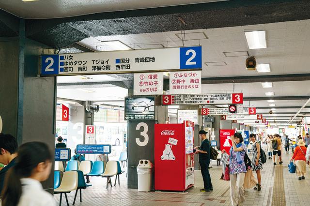 西鉄久留米駅 バスターミナル
