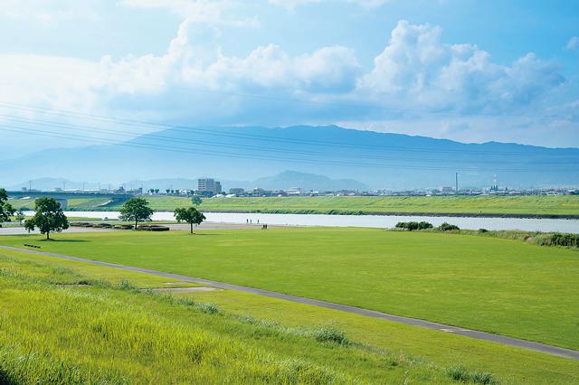 作中のエピソードも多い九州最長の川、筑後川