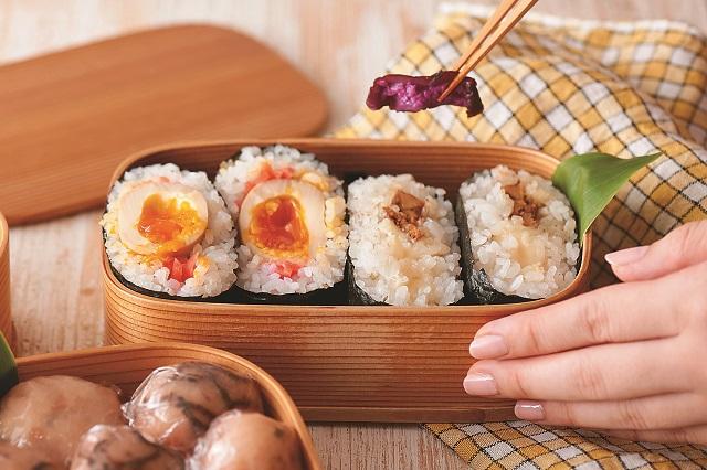 にぎらずおいしい! おにぎらず寿司