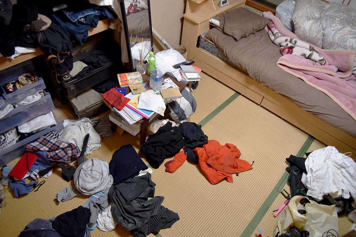 生活が荒むと、なおさら無気力に。まずは汚部屋脱却を