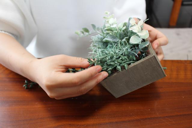 全体を見ながらひたすらグリーンをボックスに入れていく