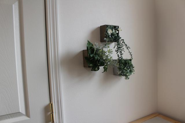 壁掛けグリーンはさまざまなテイストの部屋にも合う!