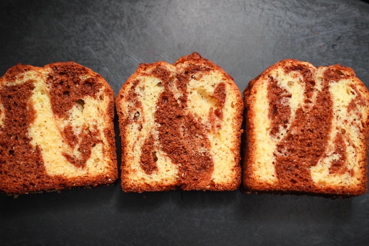 ミックス ケーキ パウンド ホット ケーキ