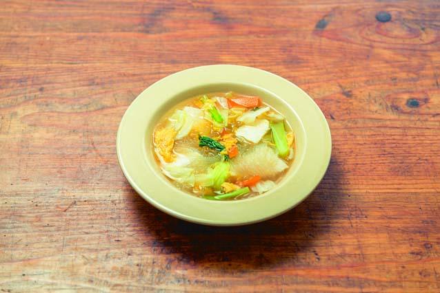 豆腐と春雨でボリュームUP! 豆腐と野菜の春雨スープ