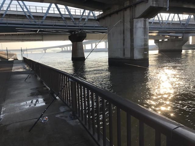 荒川(西葛西と接している部分は厳密には中川)河口域は絶好の釣りポイント