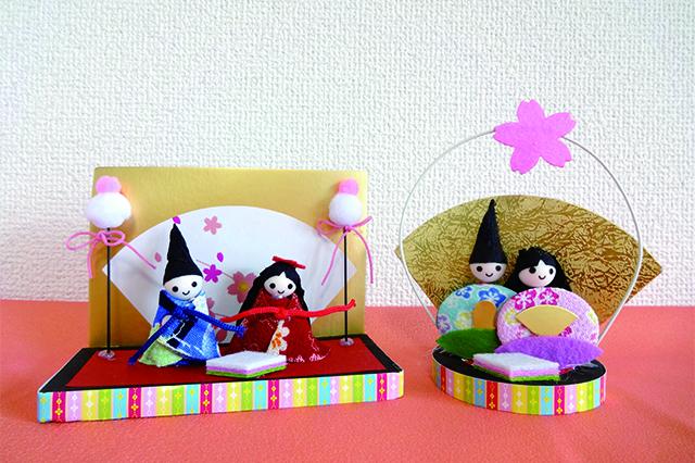 季節の飾り ひなかざり 置型・スタンド 各108円|ダイソー
