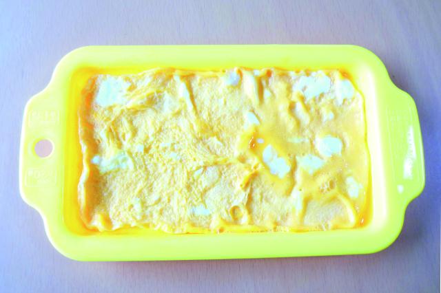 不器用でも穴のない薄焼き卵があっという間に作れた!|レンジでかんたん!薄焼き卵(ダイソー)
