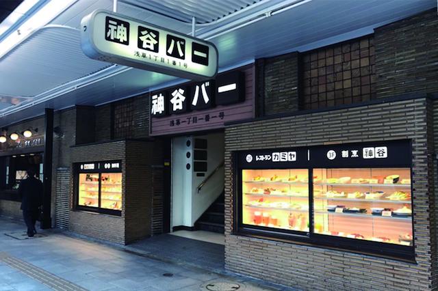 明治13年創業、日本最古のバーであり電気ブラン発祥の浅草・神谷バー