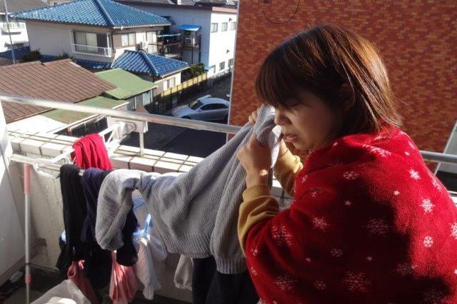 一昨日干した洗濯物がまだ乾いてない……っ!|洗濯物が早く乾く干し方