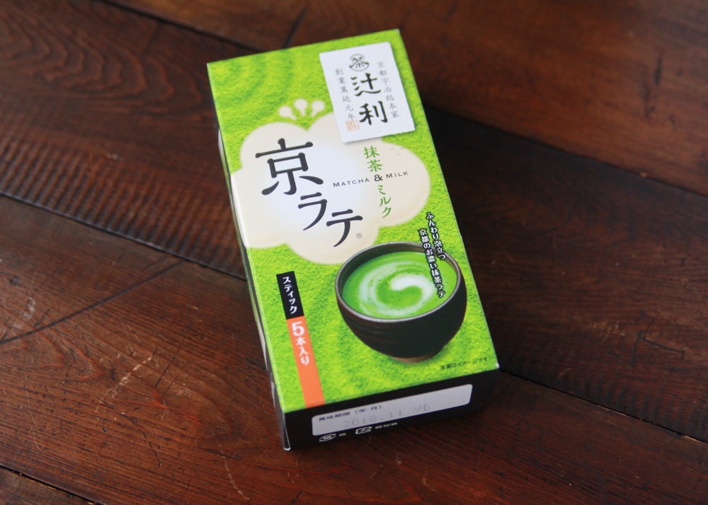 辻利 京ラテ 抹茶ミルク(270円)|セブンイレブン|かんたん抹茶ババロアの作り方