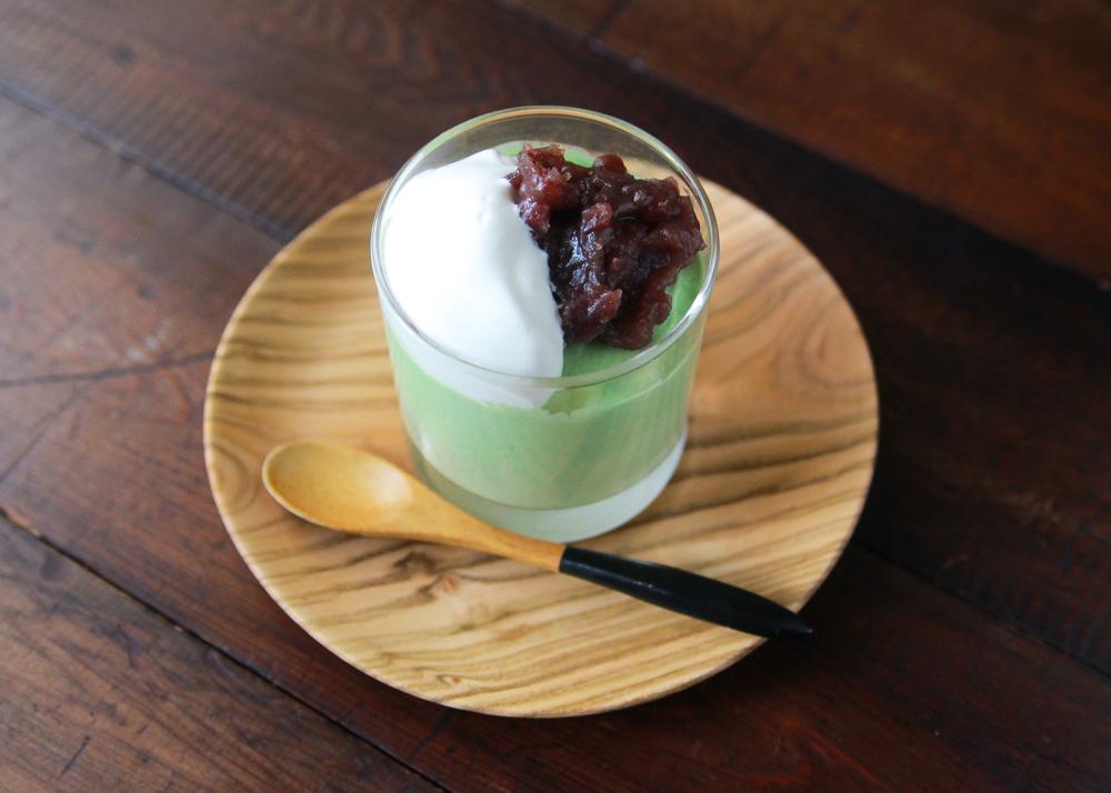 かんたん抹茶ババロアですてきなホワイトデーを過ごそう!|かんたん抹茶ババロアの作り方