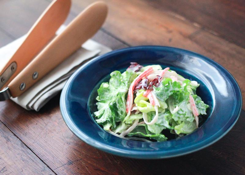 ヨーグルトをドレッシング代わりに使って乳酸菌を補給!|ヨーグルトのグリーンサラダで花粉症対策