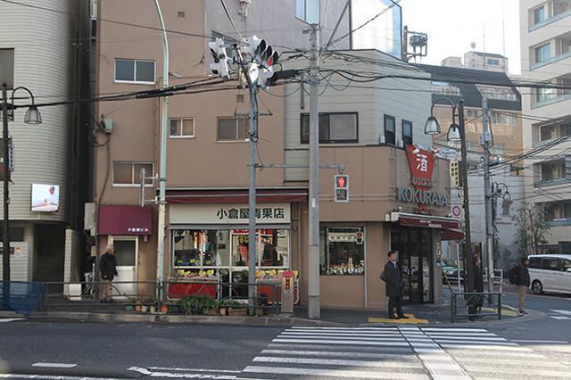 こちらの「小倉屋」は、夏目漱石の小説『硝子戸の中』に登場。また、「赤穂浪士」の堀部安兵衛が仇討ちの前に立ち寄り、酒を飲んだことでも知られる|下関マグロさんと歩く早稲田