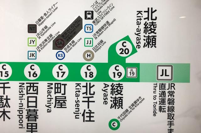 北綾瀬駅は上りも下りも綾瀬駅での乗り換えが必要。いわゆる「盲腸線」というやつだ|東京メトロ直通運転開始で便利になる街「北綾瀬」「方南町」をサキドリ取材してきた