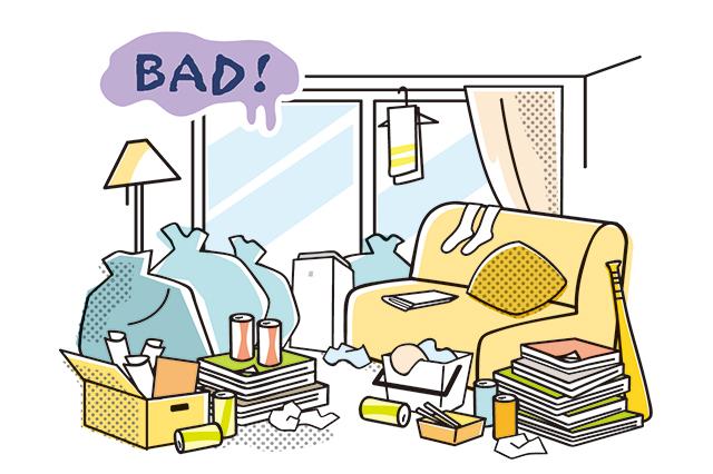 ゴミがあっては部屋はいつまで経っても片付かない|佐々木典士さんに聞いたミニマリストになるための物の捨て方