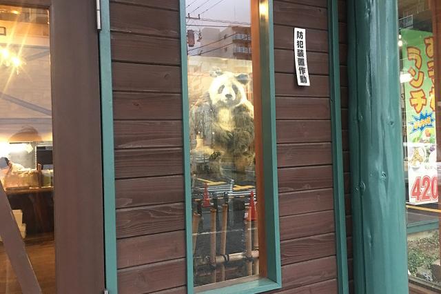 じつはパンダがいるので気が抜けない(あとで、調べたらやはり同じパンダグループだった)|東京メトロ直通運転開始で便利になる街「北綾瀬」「方南町」をサキドリ取材してきた
