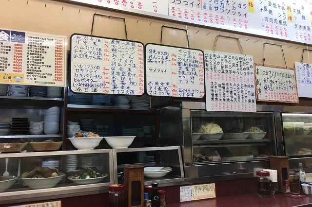 定食メニューのほか一品料理も充実|定食のヤシロ|東京メトロ直通運転開始で便利になる街「北綾瀬」「方南町」をサキドリ取材してきた
