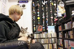 【猫との暮らし】ペット可賃貸に住む猫グッズのデザイナー兼スタイリストの部屋づくり
