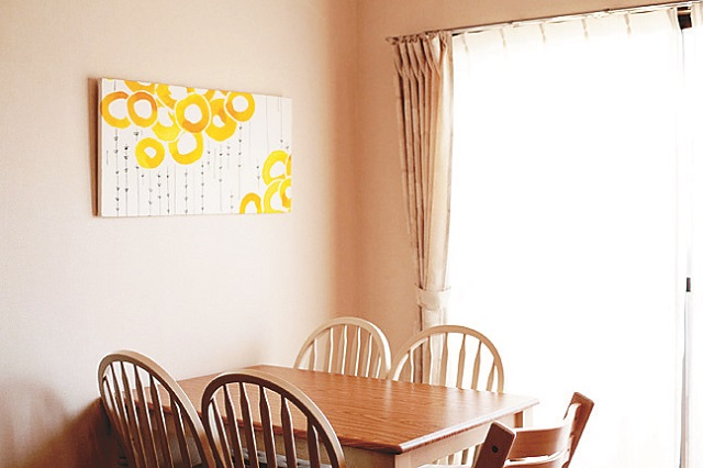 北欧風デザインのファブリックは部屋の雰囲気を華やかにする 【インテリアコーディネート術】DIY好きのママに聞いたファミリー向けインテリア術