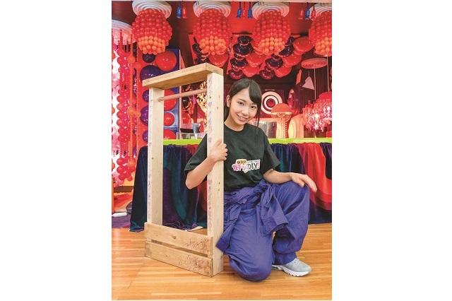 今回のDIYの挑戦者 月野もあさん|仮面女子・月野もあがDIYに挑戦!賃貸物件の玄関にぴったりなアンブレラスタンドを作ってみた